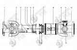 13. Z3.4.3 Передний приводной вал