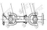 14. Z3.4.4A Задний приводной вал