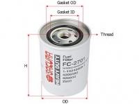 Фильтр топливный HITACHI 4206080 SAK-FC2701
