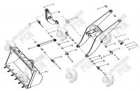 13. Концевой штифт кронштейна Питмена Z3.11.5