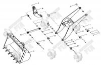 14. Ковш LW330F.11. HI (LW330F.ll.l)