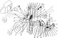 22. Задний сигнал поворота XH8-2L2