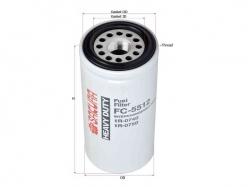 Фильтр топливный CATERPILLAR 1R-0740 SAK-FC5512