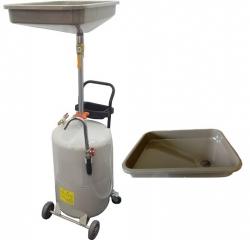 TS-2081 Установка для слива отработанного масла 80л. Воронка