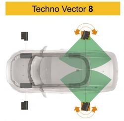 Техно Вектор V8214 SMART LICHT бесконтактный стенд сход развал на яму