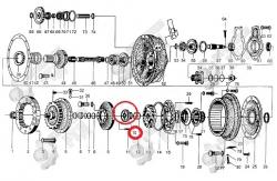 10. Втулка направляющей турбины 30D-11-28
