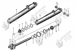 18. Корпус цилиндра (правый) 330E. 10.3.1