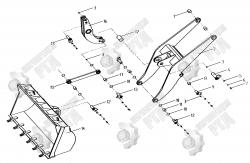 2. Подъемный кронштейн LW330F.11.2, LW330F(G).11.1