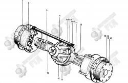 1. Узел планетарной редукторной передачи 83240200
