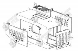 13. Задняя панель LW330F(II).18.1.2